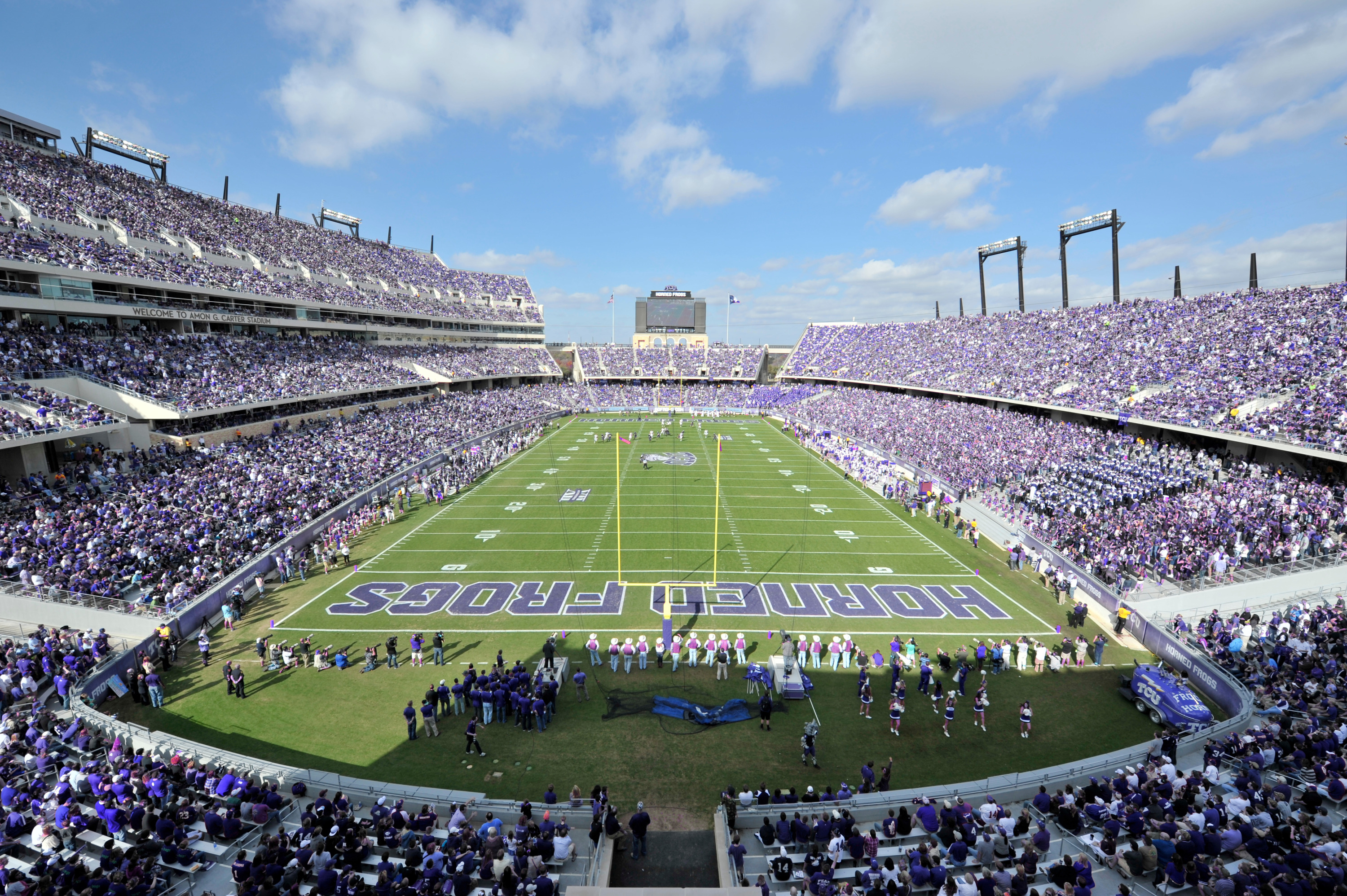 Tcu Stadium Map Amon G. Carter Stadium   TCU Athletics