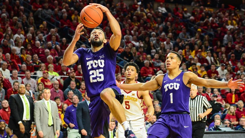 TCU Horned Frogs NCAA Basketball: Freshman Kendric Davis scored a career-high 22 points to lead a hot-shooting TCU team t...