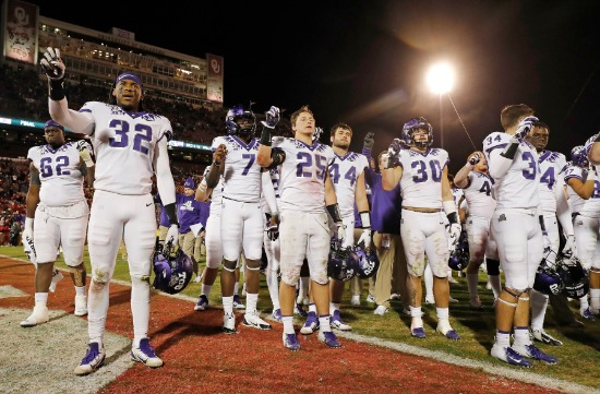 TCU Comeback Falls Short At No Oklahoma TCU Athletics